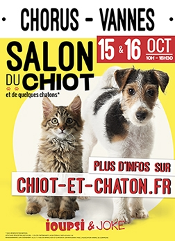 salon du chiot et du chaton ioupsi joke. Black Bedroom Furniture Sets. Home Design Ideas