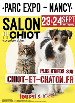Salon du chiot - Nancy