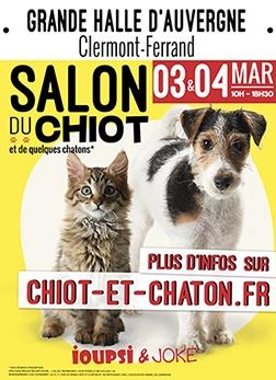 Salon du chiot - Clermont-Ferrand
