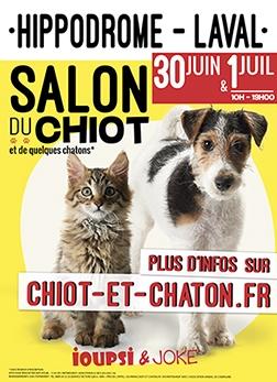 Salon du chiot - Laval (extérieur)