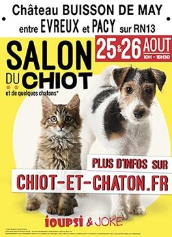 Salon du chiot - Pacy/Eure (Evreux) (extérieur)