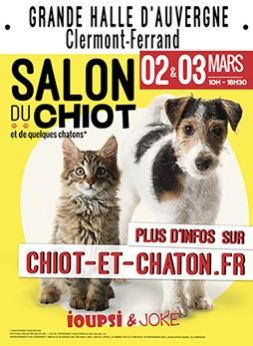 Salon du chiot - Clermont-Ferrand