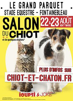 Salon du chiot - Clermont Ferrand